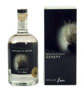 Distillato da infuso al genepy