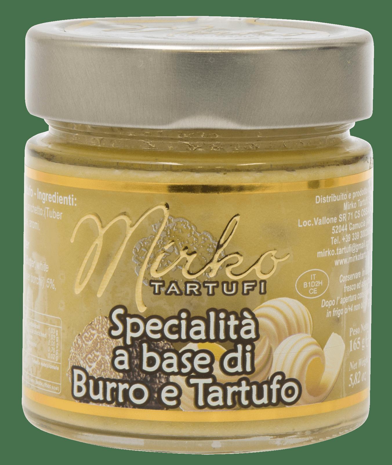 Specialità a Base di Burro e Tartufo 75g