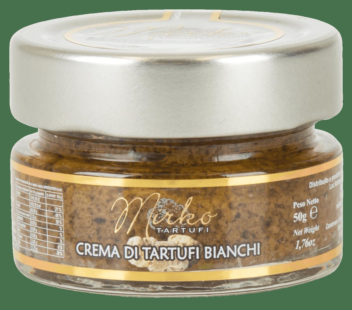 Crema di Tartufi Bianchi 50g