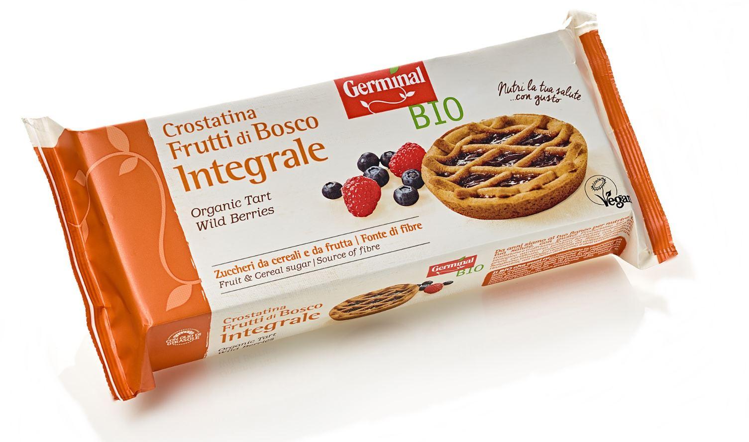 Crostatina Frutti di Bosco Integrale